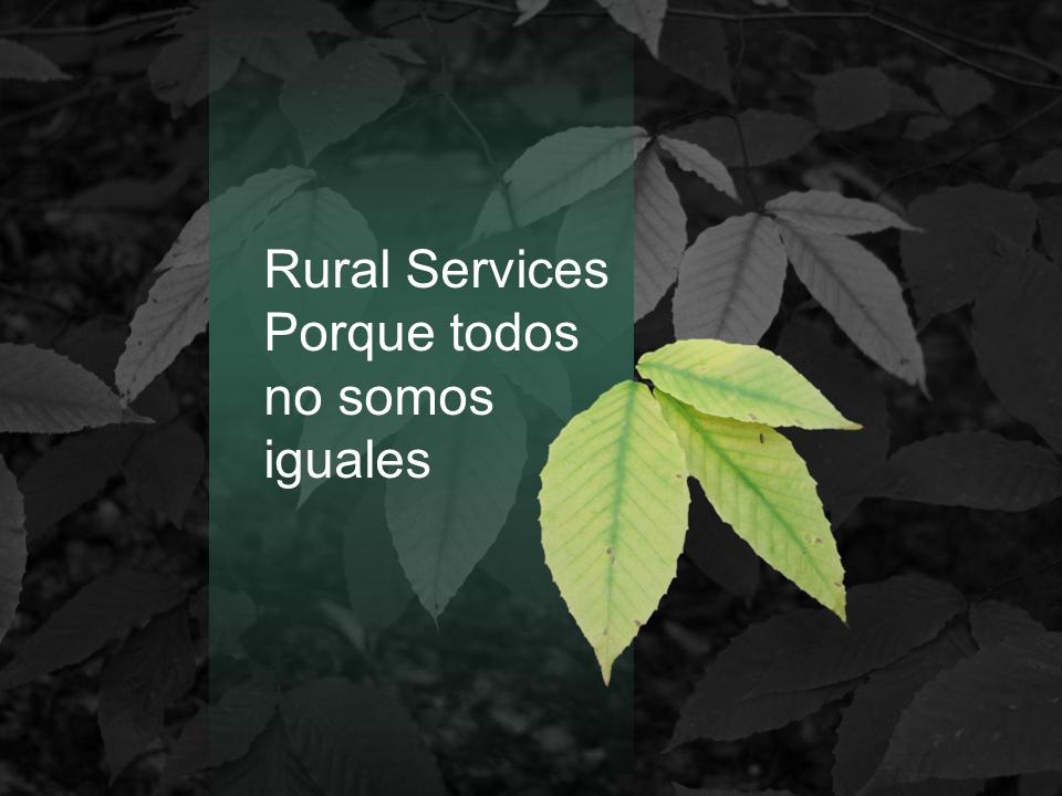 Rural Services Empresa de Inserción Socio Laboral
